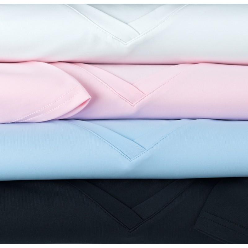 Neck-Top Brook Taverner Women's-Tufino-V-Neck-Stretch-Top-2213 Shirt & Blouse £22.00