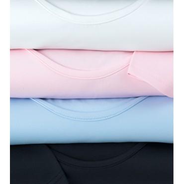 Neck-Top Brook Taverner Women's-Tramonti-Round-Neck-Stretch-Top-2212 Shirt & Blouse £22.00