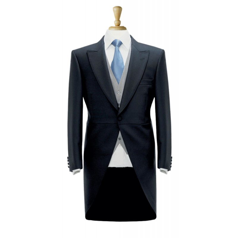 Formal-Wear Brook Taverner Tailcoat-5701A-Black Formal £180.00