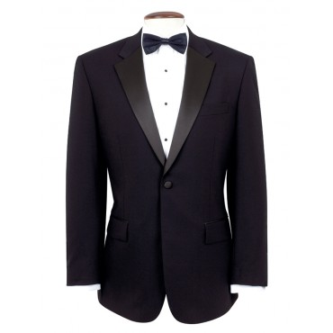 Jackets Brook Taverner Single-Breasted-Dress-Jacket-5977A-Black Formal £135.00