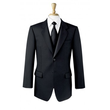 Black-Jacket Brook Taverner Single-Breasted-Black-Jacket-5047D Formal £135.00