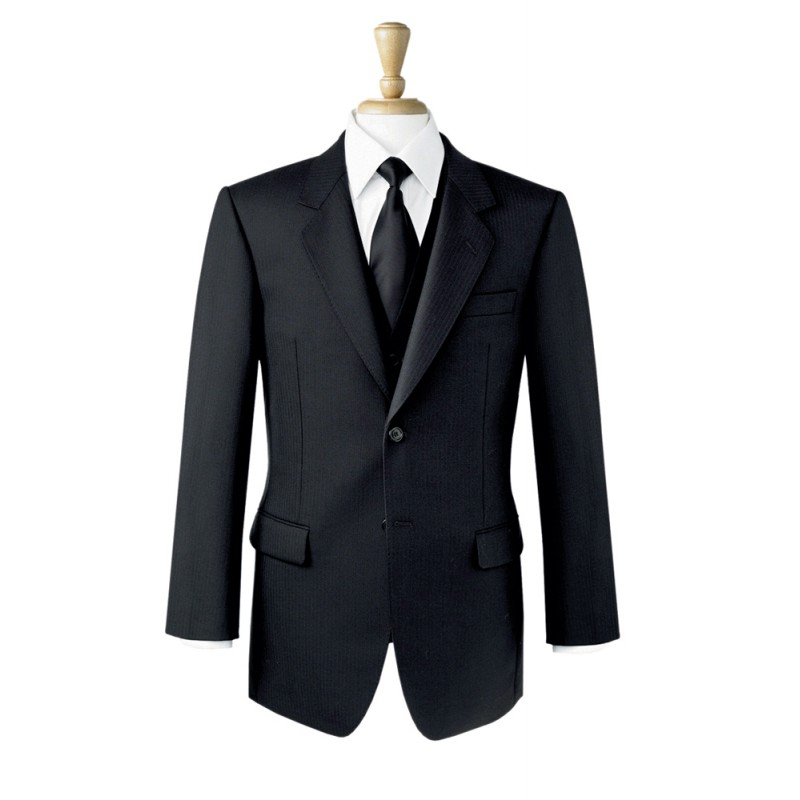 Jackets Brook Taverner Lounge-Jacket-5702A-Black Formal £170.00