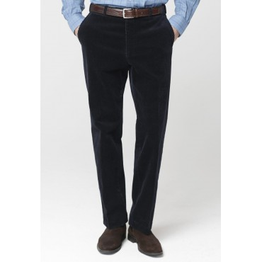 Trousers Brook Taverner Navy Ellroy Cord Trousers £76.00