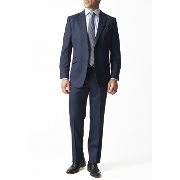 Suits Brook Taverner Dawlish Navy Birdseye Super 110'S Suit £340.00