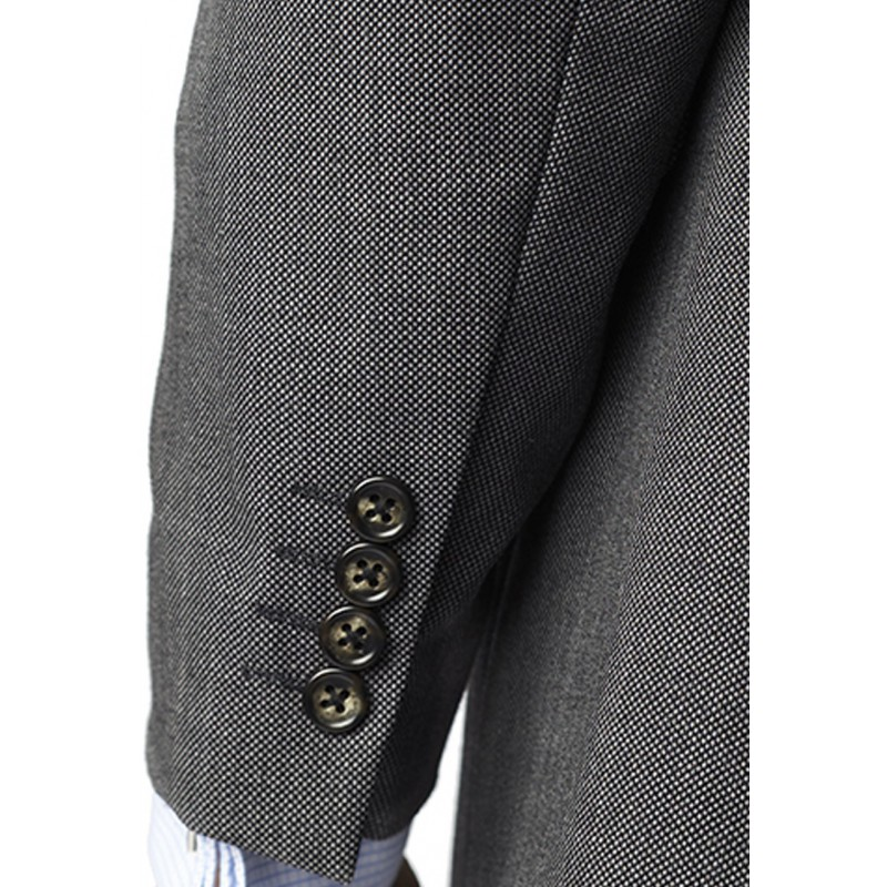 Suits Brook Taverner Dawlish Charcoal Birdseye Super 110'S Suit £340.00