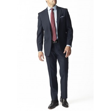 Suits Brook Taverner Dawlish Navy Herringbone Super 110'S Suit £340.00