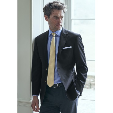 Jackets Brook Taverner Otley Classic Fit Navy Wool Blazer £222.00