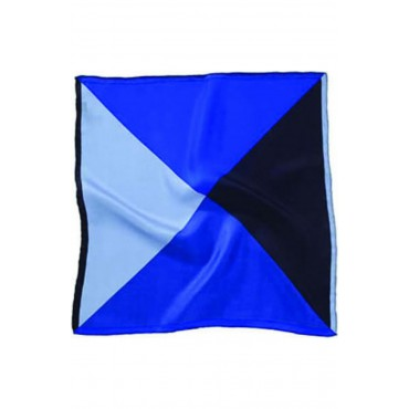Fashion Handkerchiefs Soprano Ties Soprano 4 Colour Blue Mens Silk Pocket Square-ST-MH01BLUE £22.00