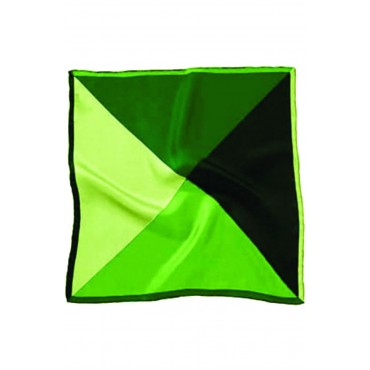 Fashion Handkerchiefs Soprano Ties Soprano 4 Colour Greens Mens Silk Pocket Square £27.00