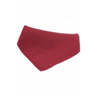 Wedding Handkerchiefs Soprano Ties Soprano Plain Wine Satin Silk Mens Silk Pocket Square £20.00