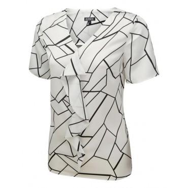 Tops Vortex Designs Tilly Short Sleeve White £22.00