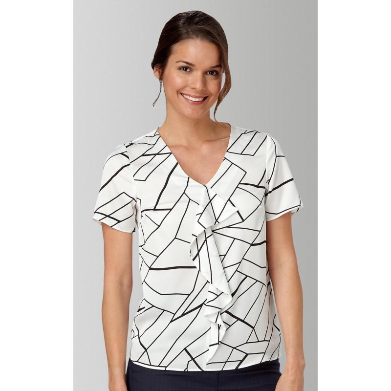 Tops Vortex Designs Tilly Short Sleeve White £21.00