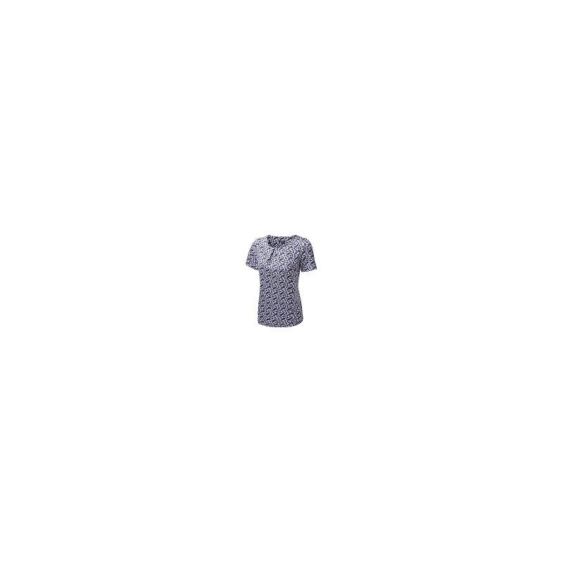Tops Vortex Designs Suzie Short Sleeve Cobalt £21.00