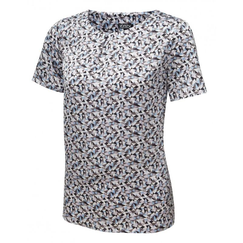 Tops Vortex Designs Suzie Short Sleeve Sky Blue £21.00