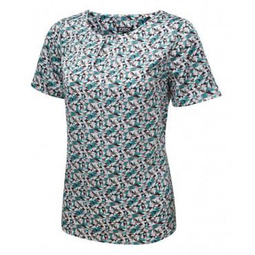 Tops Vortex Designs Suzie Short Sleeve Jade £21.00