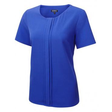 Tops Vortex Designs Poppy Cobalt £22.00