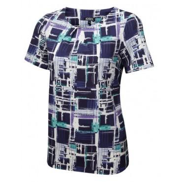 Tops Vortex Designs Penny Short Sleeve Navy £21.00