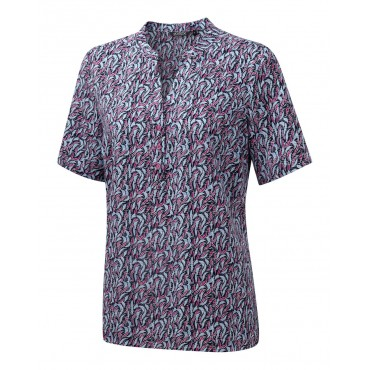 Tops Vortex Designs Billie Short Sleeve Berry £25.00