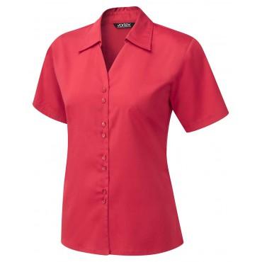 Knitwear Vortex Designs Freya Short Sleeve Red £24.00