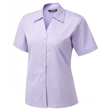 Knitwear Vortex Designs Freya Short Sleeve Lilac £24.00