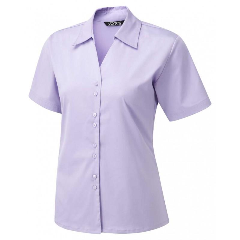 Knitwear Vortex Designs Freya Short Sleeve Lilac £24.00