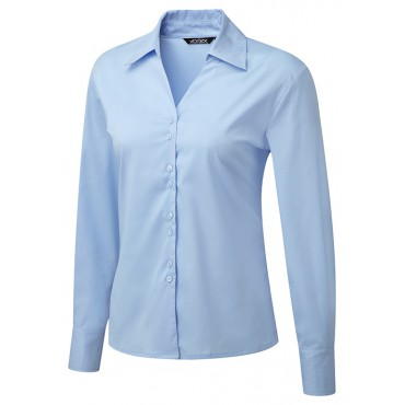Knitwear Vortex Designs Freya Long Sleeve Sky Blue £26.00