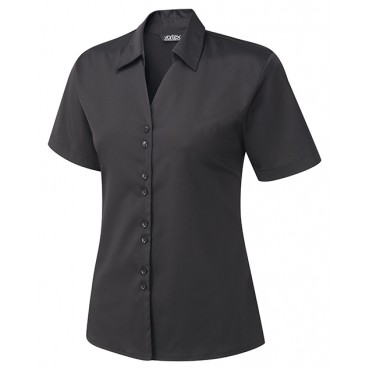Knitwear Vortex Designs Freya Short Sleeve Black-VD-FREYA2801 £24.00