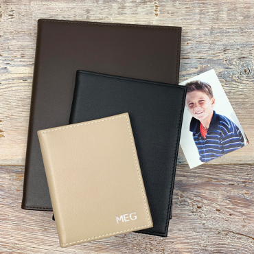 Picture Frames Byron & Brown Leather Folding Travel Picture Frame £35.94