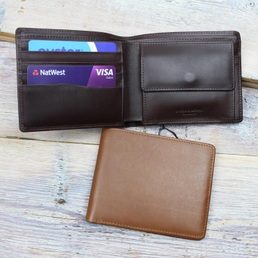 Wallets Byron & Brown Classic 4 Cards & Coin Pocket Wallet £40.00