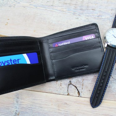 Wallets Byron & Brown Milan 8 Card Bi-Fold Wallet £35.00