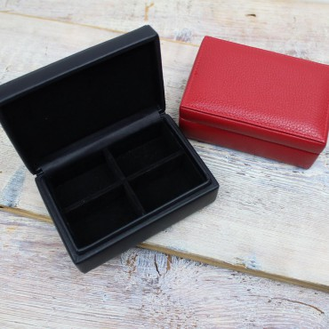 Boxes Byron & Brown Leather Cuff Link Box-BB-1567675421 £25.00