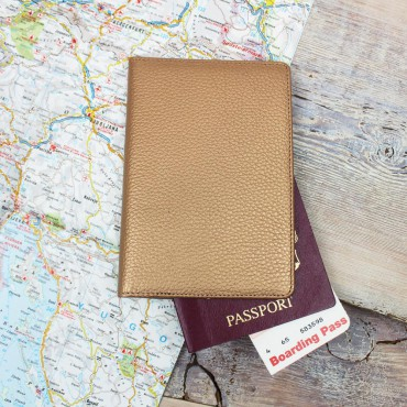 Wallets Byron & Brown Gold Slim Travel Wallet-BB-1567675019 £13.00