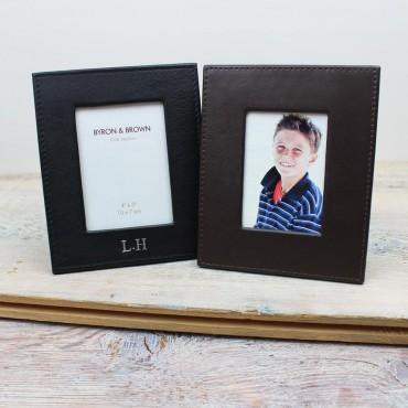 Interiors Byron & Brown Classic Leather Photo Frames £20.00