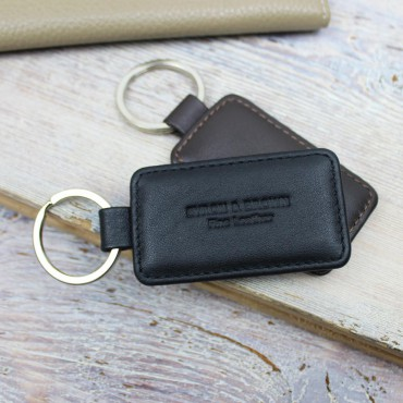 Luggage Byron & Brown Smooth Nappa Leather Rectangular Key Fob £7.00