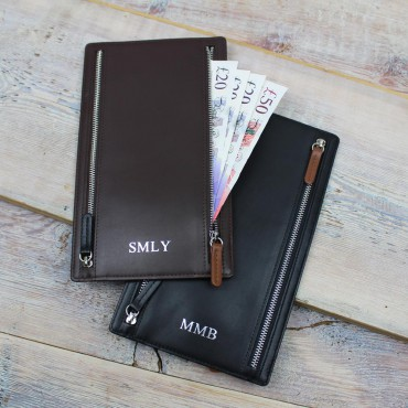 Wallets Byron & Brown Travel Currency Wallet £50.00