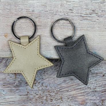 Women Byron & Brown Pearlised Star Keyring £7.00