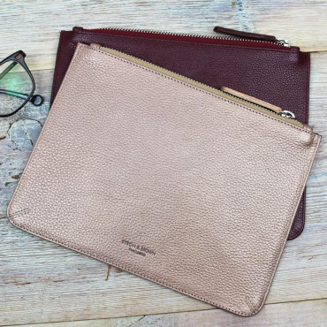 Wallets Byron & Brown Leather Cosmetic Case-BB-1567086120 £22.00