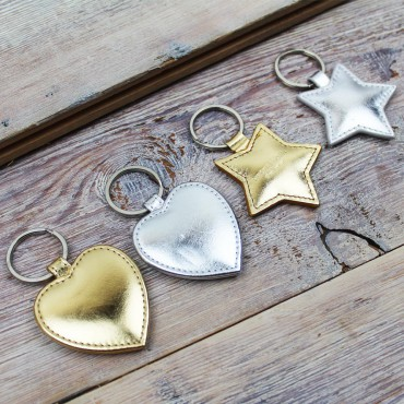 Keyrings Byron & Brown Metallic Key Ring £7.00