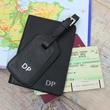 Wallets Byron & Brown Slim Travel Wallet And Luggage Tag Set £26.00