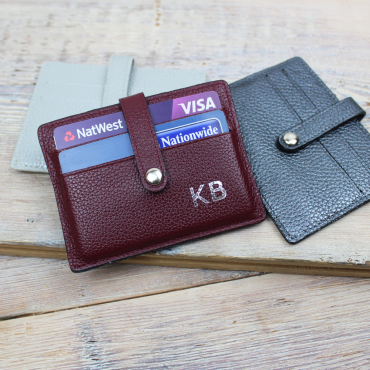 Wallets Byron & Brown Leather Folding Card Case-BB-1566487167 £13.00