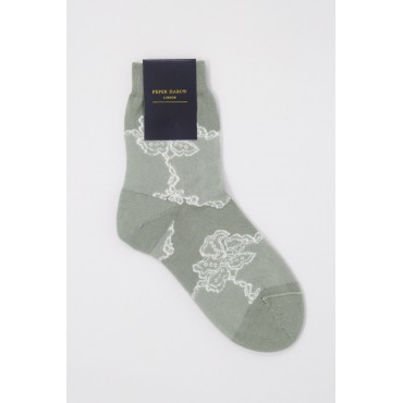 Women PEPER HAROW Delicate Womens Socks - Ash £15.00