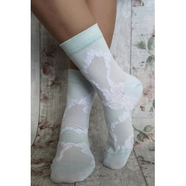 Women PEPER HAROW Delicate Womens Socks - Celeste £15.00
