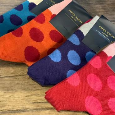 Women PEPER HAROW Eleanor Womens Socks - Teal £15.00