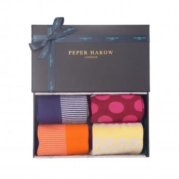 Women PEPER HAROW Anne Womens Socks - Tulip £15.00