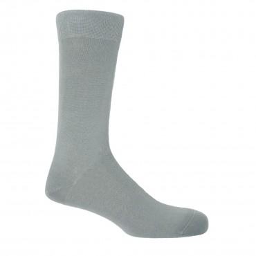 Men PEPER HAROW Classic Mens Socks - Cloud £15.00