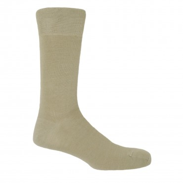 Men PEPER HAROW Classic Mens Socks - Beige £15.00