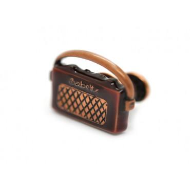 Pins Babette Wasserman Retro Radio Pin Brown £45.00