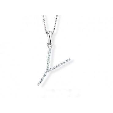 Precious Jewellery Babette Wasserman Letter Necklace Y £690.00