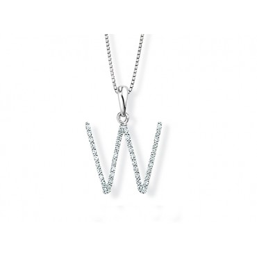 Precious Jewellery Babette Wasserman Letter Necklace W £690.00