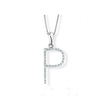 Precious Jewellery Babette Wasserman Letter Necklace P £690.00